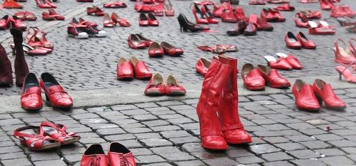 Scarpe Rosse - Violenza sule donne